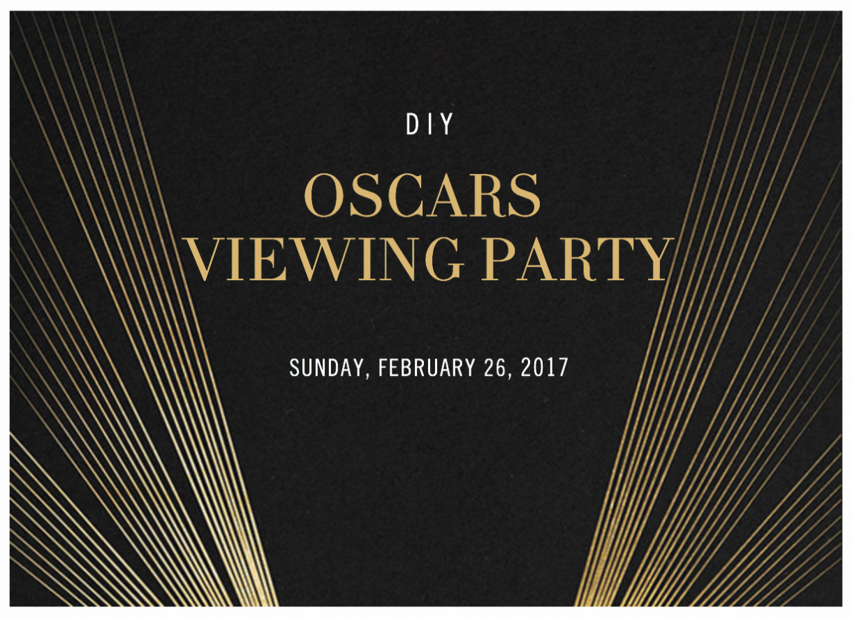 Oscars Viewing Party